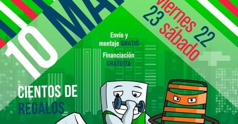 El Maratón de Colchones Aznar llega con el colchón solidario de Aspanoa